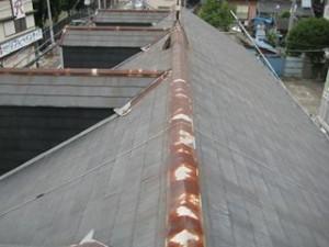 金属屋根のサビ2