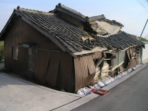 経年劣化の瓦屋根
