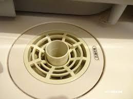 洗濯機:排水口