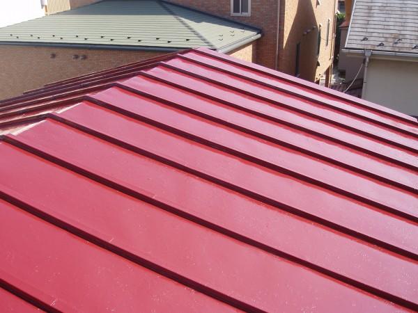 屋根塗装完了(トタン)