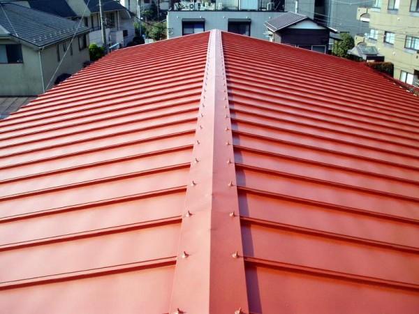 トタン屋根塗装完了