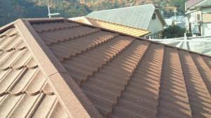 屋根カバー工事の完了