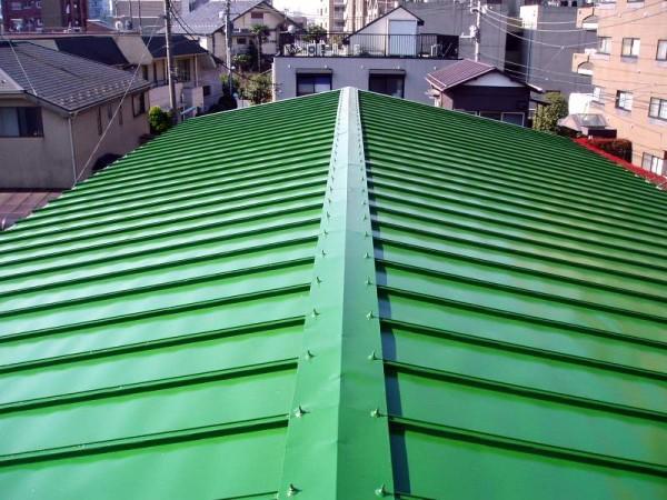 トタン屋根塗装完成!