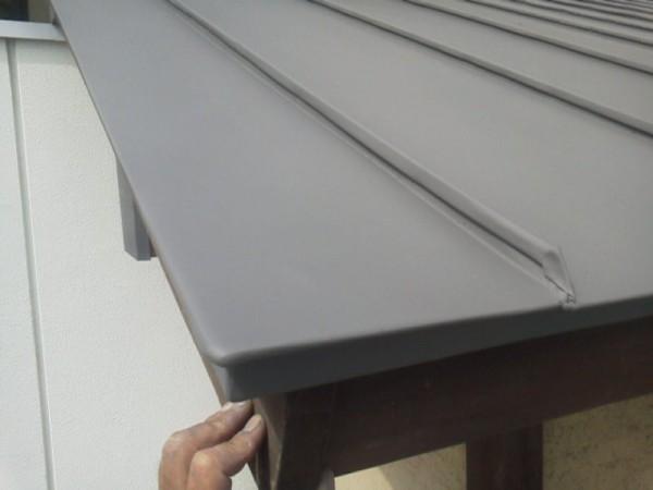 屋根ヘコミ補修完了