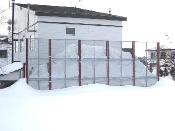 雪止めフェンス1