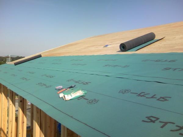 下葺き材の施工