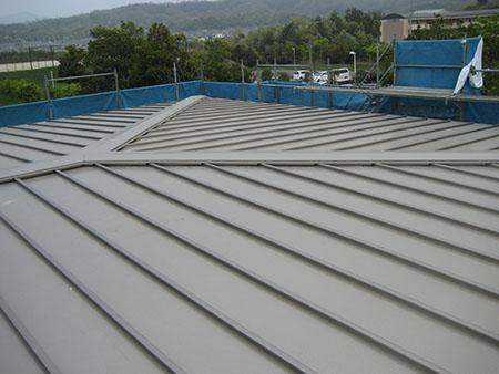 アルミ屋根:折板形