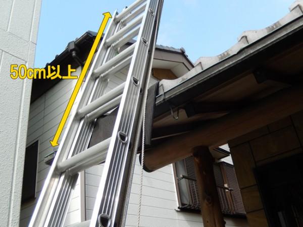 二段梯子の構造