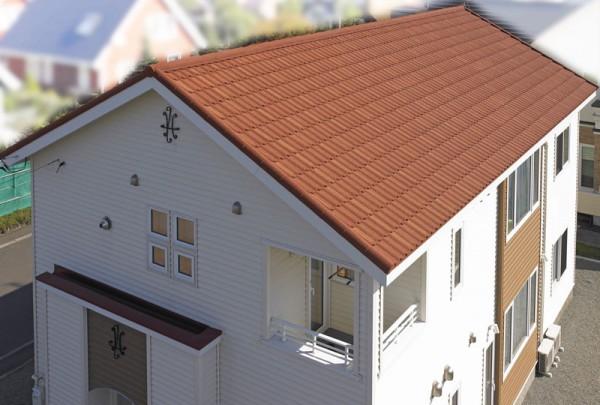 並勾配の屋根