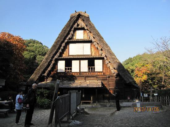 伝統的な急勾配屋根