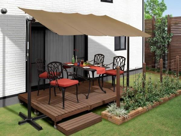 ガーデンハットのテラス屋根