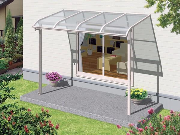 アール型 テラス屋根
