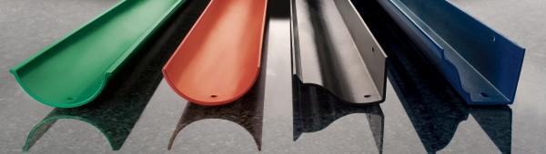 様々な形状の雨樋