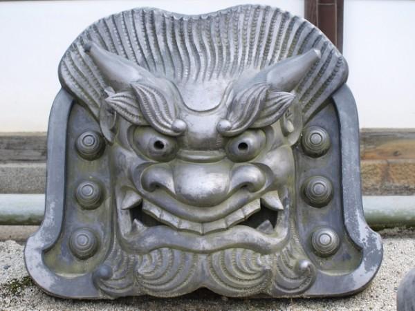 鬼面鬼瓦(阿形)