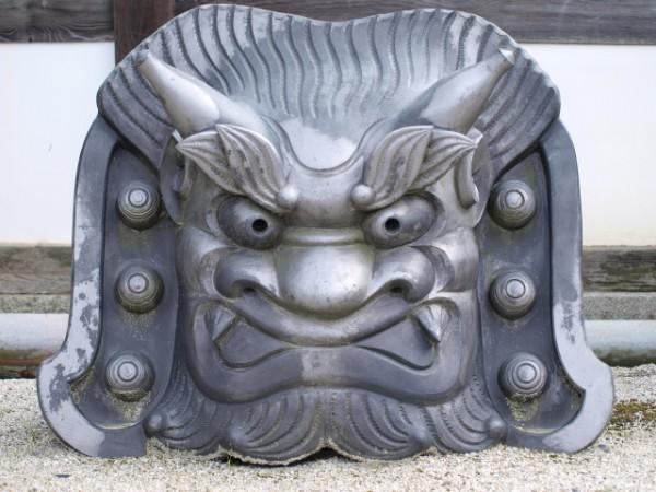 鬼面鬼瓦(吽形)
