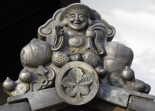 七福神タイプの鬼瓦