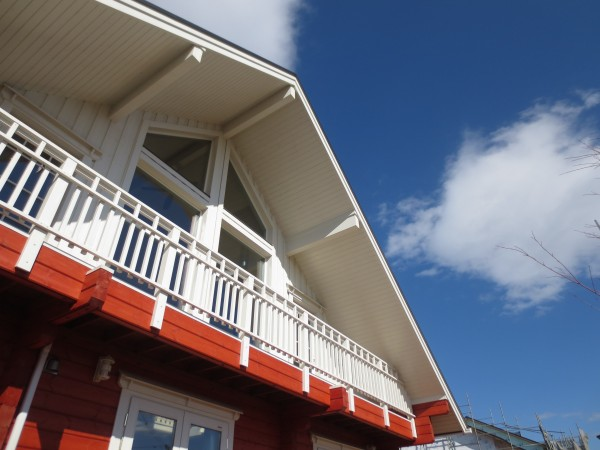 洋風建築のケラバ
