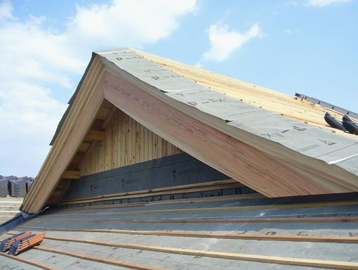 木質系の破風板