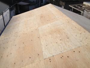 合板の野地板