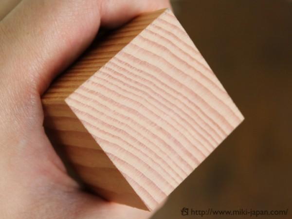 垂木の木口(切断面)