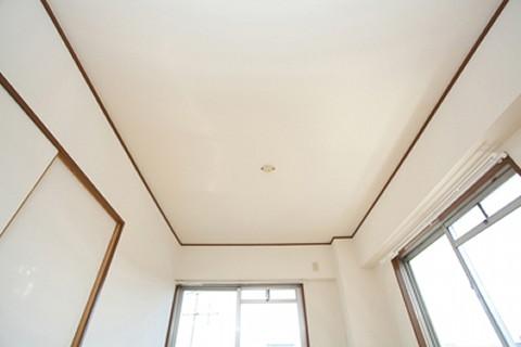 天井は0円で修理しました